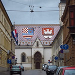 "The Coats of Arms of Zagreb and Croatia on St Mark's Roof <a style=""margin-left:10px; font-size:0.8em;"" href=""http://www.flickr.com/photos/14315427@N00/14829632001/"" target=""_blank"">@flickr</a>"