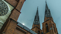 Uppsala Church (athul vasudev) Tags: building church nature pattern sweden uppsala scandinavia vackra kyrka sigtuna d600