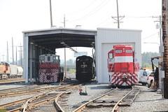 TMBL EMD MP15AC #1521; CP GE ES44AC #8856; TMBL EMD Rebuilt GP10 #2006 (busdude) Tags: road house open pacific rail railway 2006 canadian milwaukee canadianpacific tacoma cp ge cpr rebuilt 2014 milw emd 1521 8856 gp10 es44ac mp15ac tacomarail tmbl