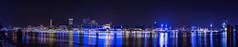 Blue Port '14 (Martin.Merz) Tags: cruise blue night port boot licht boat nacht harbour hamburg days harley hamburger blau hafen davidson schiff langzeitbelichtung blaue stunde