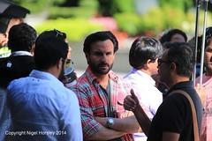 Saif Ali Khan, Phantom, filming Vancouver, August 7, 2014   9 (Nigel Horsley) Tags: vancouver phantom saifalikhan 2014 august7