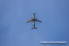 United Airlines (Cooper LeComp Photography) Tags: sky plane airplane fly air jet engine machine airline mechanics turbojet