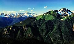 The North Cascades, Washington (hornep88) Tags: summer mountains green washington northcascades filmscan fujivelvia50