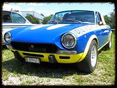 Fiat 124 Sport Spider (v8dub) Tags: auto old classic car sport spider automobile fiat automotive voiture 124 oldtimer oldcar collector abarth youngtimer wagen pkw klassik worldcars