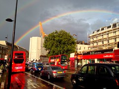 Rainbow Over King's Cross (Michael Goldrei (microsketch)) Tags: