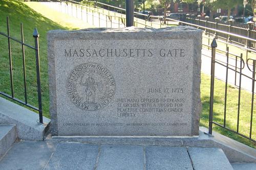Massachusetts Gate Memorial