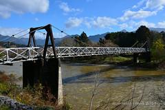 Peninsula Bridge at Ngatimoti, Motueka (flyingkiwigirl) Tags: park bridge flora national peninsula motueka kahurangi ngatimoti