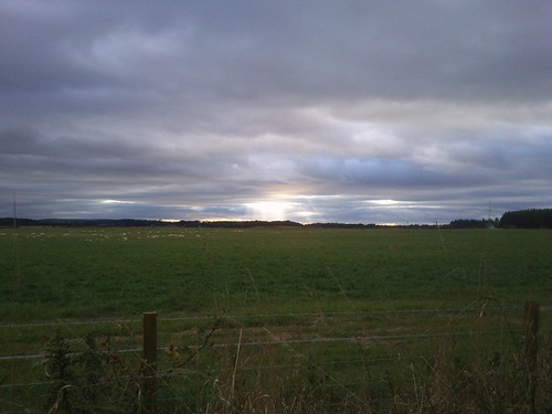 Sun setting soon