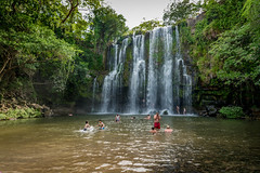 Llanos de Cortes Fall (Documentary & Travel Photography) Tags: flowers sky moon mountain tree green nature water animals night river stars waterfall sand rocks stream loneliness open hiking space wildlife rapids granite raft