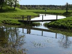 Small Footbridge (saxonfenken) Tags: stream small woodenbridge 6955 lyveden rape22nd 6955bridge