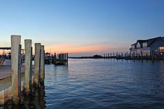 Teach's Lair Marina (BrandonWaterfield) Tags: ferry marina island nc september hatteras outer banks obx lair teachs 2014