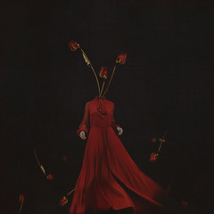 the grand finale (brookeshaden) Tags: flowers roses selfportrait fairytale photography surrealism fineart conceptual reddress whimsical videoblog humanform brookeshaden promotingpassion creatingaseries