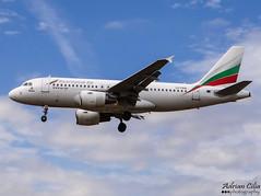 Bulgaria Air --- Airbus A319 --- LZ-FFB (Drinu C) Tags: plane heathrow aircraft sony airbus dsc lhr a319 egll bulgariaair hx100v adrianciliaphotography lzffb