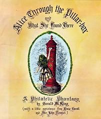 Alice Through the Pillar-box (Squatbetty) Tags: alice postbox wonderland vr aliceinwonderland pillarbox lewiscarroll charlesdodgson alicethroughthelookingglass charleslutwidgedodgson geraldmking alicethroughthepillarboxandwhatshefoundthere
