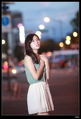 nEO_IMG__MG_4322 (c0466art) Tags: road street light portrait baby west bus girl beautiful car night canon photo eyes pretty sweet quality taipei lovely activity pure  5d2 c0466art