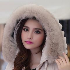Fur hood (mpreks22) Tags: winter fur shiny coat down jacket hood puffer