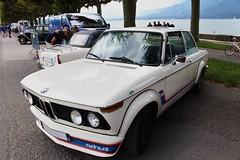 BMW 2002 (alex73s https://www.facebook.com/CaptureOfAlex?pnr) Tags: auto old 2002 white classic car automobile voiture coche bmw oldcar blanche macchina ancienne worldcars