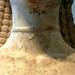 New York Kouros, detail of neck