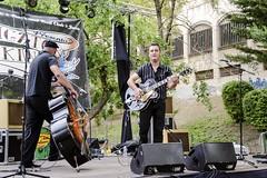 Alligator 2014 Sabado (18) (EDU S.G.) Tags: music festival rock martin concierto alligator musica cordoba rockabilly trio mad jaen rockandroll jaén contrabajo condensadores