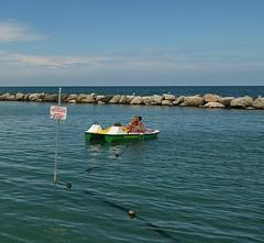Gatteo A Mare Spiaggia (charlinewillig_pro) Tags: sea sun beach italia mare august playa rimini agosto plage vacanza aout 2014 cesenatico gatteo gatteomare gatteoamare