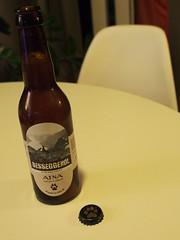 Besseggen beer by Atna Brewerys,