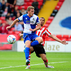 """Lincoln City v Bristol Rovers 130914 • <a style=""""font-size:0.8em;"""" href=""""https://www.flickr.com/photos/125622569@N04/15216837056/"""" target=""""_blank"""">View on Flickr</a>"""
