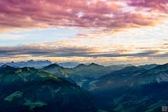 : : : F E E L I N G G O O D : : : (gregor H [PRO EX]) Tags: sunset mountain alps austria sterreich peak hike ridge highup vorarlberg schoppernau didamskopf bregenzwerwald
