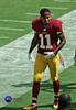 Redskins WR DeSean Jackson walks off in pain holding left shoulder. ((4+ million views)) Tags: washington football pain nfl injury jacksonville shoulder redskins jaguars deseanjackson