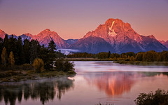 First Light, Oxbow Bend - Explored (PrevailingConditions) Tags: tetons grandtetons morning reflection fall wyoming clear sunrise yextwyoming