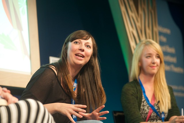 Rhiannon Cosslett and Holly Baxter, co-founders of The Vagenda blog