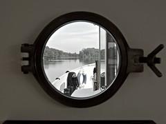 Bullauge (lars_uhlig) Tags: window river landscape boat fenster landschaft schiff saone bullauge