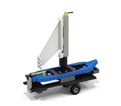 60046_ Boat Trailer (Brick Art) Tags: lego build alternate 60046