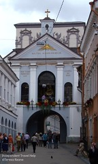 The Gate of Dawn, Vilnius (indtravhelp) Tags: city architecture lithuania vilnius citygate picmonkey:app=editor