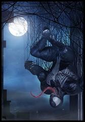 Venom (Marcmons007) Tags: venom marvel dc villian 3d hero superhero antihero mons marc spiderman spidey zbrush modeling 3dart character game gamedesign