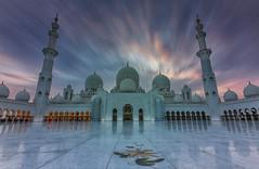 Scheich-Zayid-Moschee Abu Dhabi (jeglikerikkefisk) Tags: scheichzayidmoschee abudhabi moschee mosque unitedarabemirates vereinigtearabischeemirate uae vae nd filter langzeitbelichtung longexposure