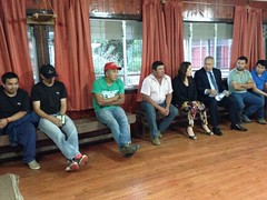 Futbolistas de Liga Deportiva Rural de Polloico junto a alcalde de #Osorno#Osorno diferentetratando diferentes temas de interés (muni_osorno) Tags: osorno diferente