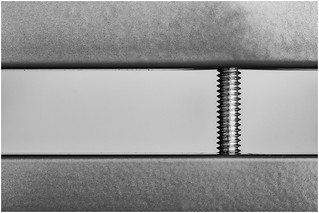 Macro Mondays (Option) - The Space In Between - Aluminium Bars and Bolt