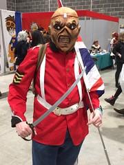 """Iron Maiden Trooper """"Eddie"""" (Dark Dwarf) Tags: eddie trooper ironmaiden 2017 liverpool mcmcomiccon"""