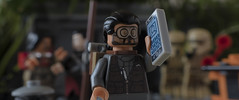 Can anybody get any signal (tomtommilton) Tags: lego toy toyphotography diorama scene starwars rogueone scarif macro cinematic movie phone signal midshot