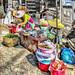 Popular street market: China