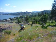 Nick Climbing the Secret Stash (RSpinnaKing) Tags: party get bike ride time rad bikes columbia riding gorge touring gravel headwind bikepacking velodirt