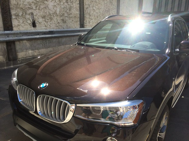 bmw x3 2015 sparklingbrown