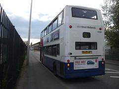 140609-192236 (West Midlands Travel Limited 4356-BX02AVN) (Bus Buster UK) Tags: road travel west sorry floor low route national service dudley express alexander dennis limited 53 ltd revised midlands trident oldbury twm livery 289 4356 alx400 wmt nxwm bx02avn