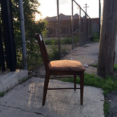 going to sit this one out (all quiet please proceed) Tags: urban chicago fence furnishings westtown chicagoist unlimitedphotos