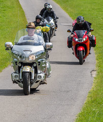 Leading Goldwing. Farmyard Party 2014. (CWhatPhotos) Tags: pictures camera camping party color colour colors bike june honda that lens fun photography hall tents do colours foto ride image artistic zoom action pics weekend yorkshire rally north group picture pic olympus images have riding pack photographs photograph fotos motorcycle helmsley ez leader biker rider which mag contain bikers omd goldwing motorcyclists motorcyclist 2014 farmyard em10 duncombe farmyardparty 1442mm cwhatphotos farmyard2014