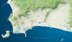WHOLE SIHANOUKVILLE MAP (freelancedesign_pnh) Tags: cambodia map kompong som kampot kep otres beach khmer coast sihanoukville kompongsom kohpuos illustrator dax freelance design kompongsombay best accurate stephanedartoux