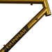 Gunnar Roadie in Gold Rush over Charcoal - Front end