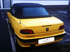 04 Peugeot 306 Cabriolet Verdeck ältere Arbeit gbs 04