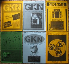 GKN free magazine 43-48 (streamer020nl) Tags: cards 1996 1993 postcards photocopy 1997 gratis 1998 1995 1994 a4 boomerang nimit nieuws kaarten freecards nieuwsbrief photocopied gocards gkn adpost schoolcards collegecards pubcards studycardscultcards