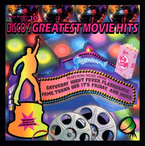 Disco Nights Vol. 10: Disco's Greatest Movie Hits CD